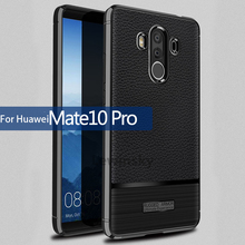 Buy Anti-Knock 360 Full Body Cover Huawei Mate 10 Pro Silicon Case Shockproof Slim Carbon Leather Fiber Mate 10 Pro Luxury Case for $2.99 in AliExpress store