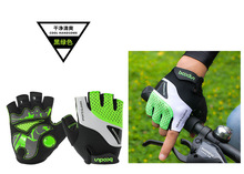 Tactical Gloves MTB Mountain Cycling Gloves Gel Motocross Mittens Moto Half-finger Racing Gloves Lycra Microfiber Velcro Gloves(China)