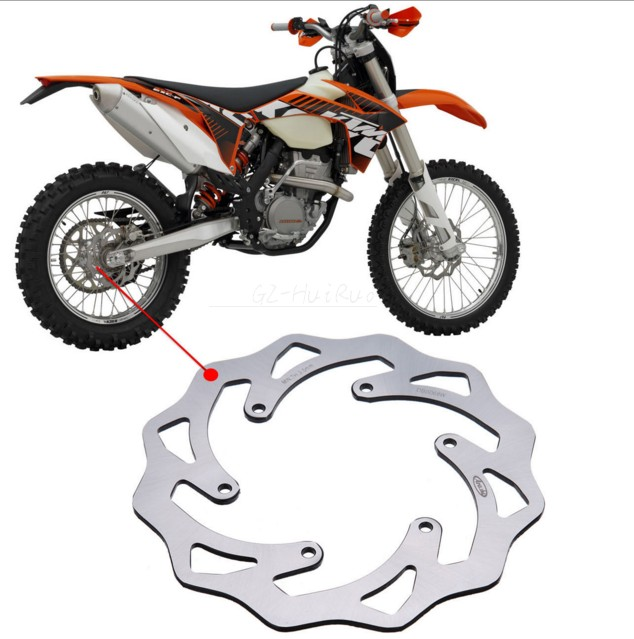 CNC Rear Brake Disc For KTM SX SXF SX-F 2003-2012 125 150 250 300 350 400 450<br>