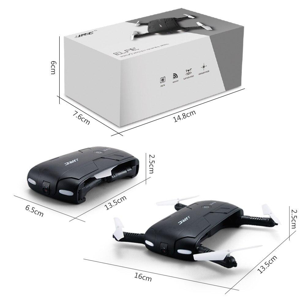 JJRC H37 ELFIE Foldable Pocket Selfie Drone WiFi FPV Phone Control Quadcopter Altitude Hold G-Sensor Mode 720P HD Selfie Drone 03