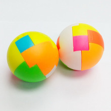 2 pc 4.2cm puzzle ball E318 birthday party Favor game toys prize gift Pinata Bag Filler Loot Gag Brain Test edcuational Carnival(Hong Kong)