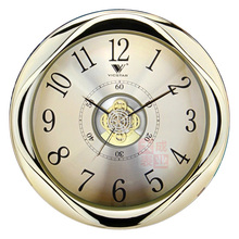 The sitting room the hotel wall clock, aureate wall clock senior wall clock