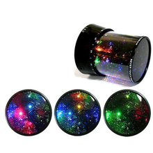Romantic Colourful Cosmos Star Master LED Projector Lamp Kid Children Universal  Night Light Christmas festival Gift for girl