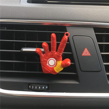 Iron Man palm Automobile styling design decorate Air conditioning perfume Solid iron fist Air Freshener Perfumes 100 Original