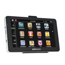 "KKmoon 7"" Portable HD Car GPS Navigator 128MB 4GB MP3 FM Video Play with Handwriting Pen Free North America Map"