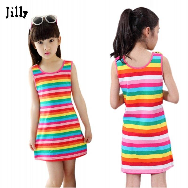 Popular Girls Summer Dresses Girls Dress 10 Years-Buy Cheap Girls ...