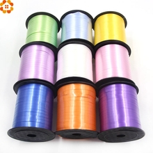 1PC/250Yard Colorful DIY Balloon Ribbons Curling Balloons Ribbon Birthday Wedding Party Decoration Ribbon Accessories Supplies