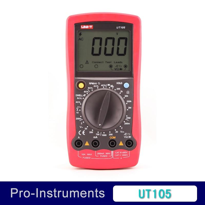 Car digital Meter automotive multimeter digital professional UT105<br>