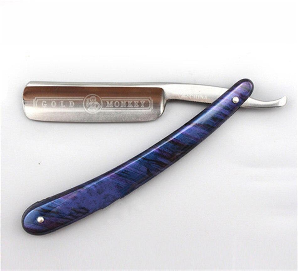 Straight Razor Retro Shaving Razor Stainless Steel  Barber Razor Collectors Edition Gift for Men folding knife<br>