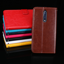 For Nokia 8 Case 5.3'' Business Style Stand Flip PU Leather Wallet Phone Cover Capa for Nokia 8 Nokia8 Case Accessories(China)