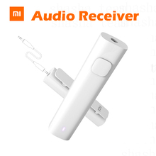 Original Xiaomi Bluetooth Audio Receiver Light Battery Inside For Wired Earphone Device with AUX Type-C USB-C Phone Xiaomi Mi6