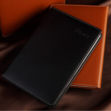 1pcs Manufacturers selling stationery gift leather notebook A5 Notepad diarybook Colorful(China)