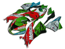 Motorcycle Fairing kit for KAWASAKI Ninja ZX6R 09 10 ZX6R 636 2009 2010 Fashion square colorful ABS Fairings set +gifts SD15