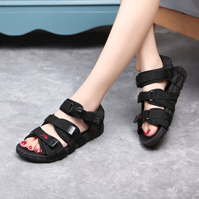 2017 new women fashion comfortable sandal hook&amp;loop convenience cool summer couple shoes rome EVA injection women sandals<br><br>Aliexpress