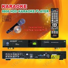 8806(#6) Hot Sale Hom Karaoke Player Sing Machine ,Support VOB/DAT/AVI/MPG/CDG/MP3+G Songs ,USB Add Songs ,Multilingual MENU(China)