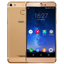 "Ramos R9 5.2"" full HD 2.5D Screen Ultra thin Metal Fingerprint id 4G LTE MTK6753 Octa Core 64-bit 2GB RAM 16GB Android 5.1 Phone"