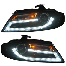 SONAR Brand for Audi A4 A4L A4L/B8 Projector Headlights 2008 year 2012 year with DRL light for Halogen model only