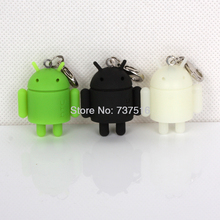 Set Of 3Pcs Lovely Android Mini Robot Figures Doll Mascot Collectible Product Rare Model Toys US Free Ship New(China)