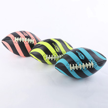 1 piece PVC Football Ball Sizes 9 # Standard Training And Match Rugby Ball English Soccer Ball Three Colors Available