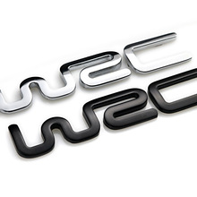 2017 Alloy WRC 3D Metal Auto Car Badge Emblem Sticker for Toyota Yaris Ford Fiat Citroen Audi SUZUKI Volkswagen VW Golf Cruze(China)