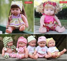 Simulation Soft Silicone Newborn Baby Dolls Sound Doll Early Learning Baby Toy Shower Toys Kids Christmas New Year Gifts 30cm