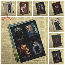 Horror film Crimson Peak Kraft Paper Poster Interior Decoration High quality Drawing core Decorative Painting(China)
