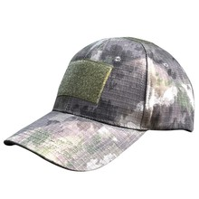 Digital Camo Tactical Camouflage Flag Patch Baseball Cap Hats Multi-pattern Outdoor Sports Hunting Caps Hunting Clothing(China)