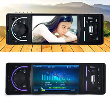 4.2 Inch 1 Din New Styling Car MP5 Player 2 Channel Audio Output Bluetooth Rearview FM Radio Media Player With Remote Control(China)