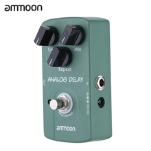 ammoon AP-07 Guitar Pedal Analog Delay Electric Guitar Effect Pedal True Bypass High Quality Guitar Parts & Accessories(China)
