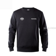 Toyota round neck sweatshirt mans coat car 4s shop autumn winter custom car standard pullover clothes(China)