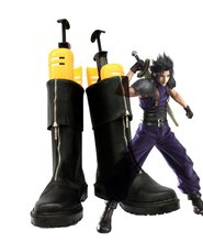 Crisis Core Final Fantasy VII FF7 Zack Fair Cosplay Shoes Boots Custom Made(China)