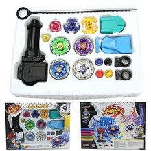 Fusion Top Metal Master Rapidity Fight Rare Beyblade 4D Launcher Grip Set EU
