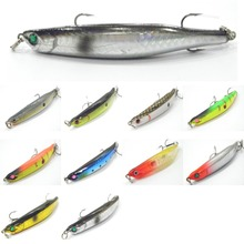 wLure Fishing Lure Slow Sinking Dying Fish Minnow Hard Bait 8.7g 8.9cm W624