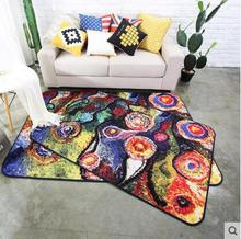 100*150cm Abstract oil painting style Carpet Living Room Doormat tea table Rugs Door Floor Mat Bedroom Rug Kids Room(China)