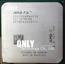 free shipping six nuclear FX6100 3.3GHZ new official version Product is the same as the picture(China)
