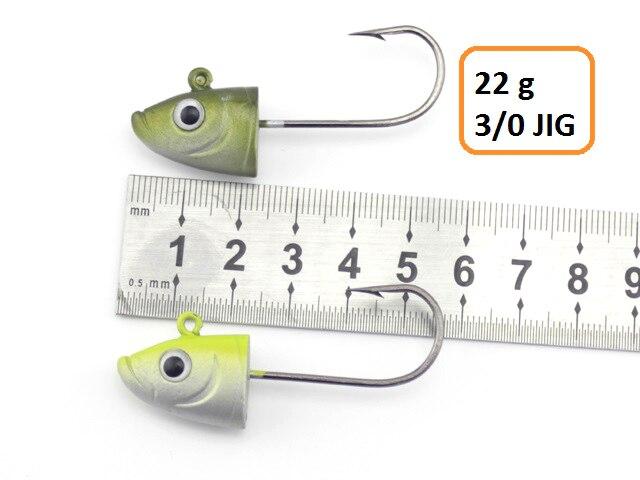 Leurres souples Slinky Shad 9cm 22g vendus par 2