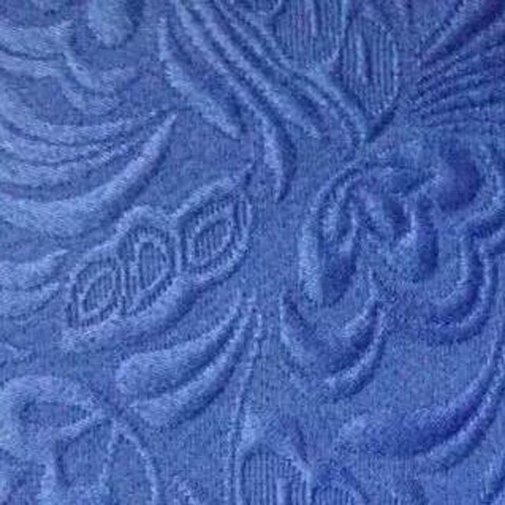 Blue paisley fabric