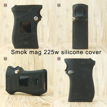 1pc silicone case for Authentic Smok mag 225w can use TFV12 prince tank Starter Vape thicker skin tactile and tough cover only(China)