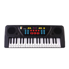 37 Keys Electronic Organ Piano Keyboard Kids Developmental Musical Instrument Toy Gift with Microphone
