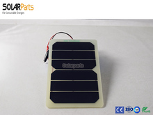 Solarparts 3W 3V 2pcs Solar Panel solar module cell solar Board Power RV Car/ toys/ Battery charger outdoor factory directly(China)