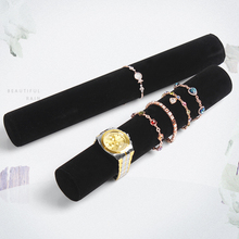 Bracelets & Watches Display Rack Black velvet display board bracelet tube Case Bracelet frame 5 pieces/lot
