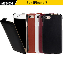 for iphone 7 case flip leather cover for Apple iPhone 7 cases cover Luxury mobile phone accessories&bag iMUCA Package