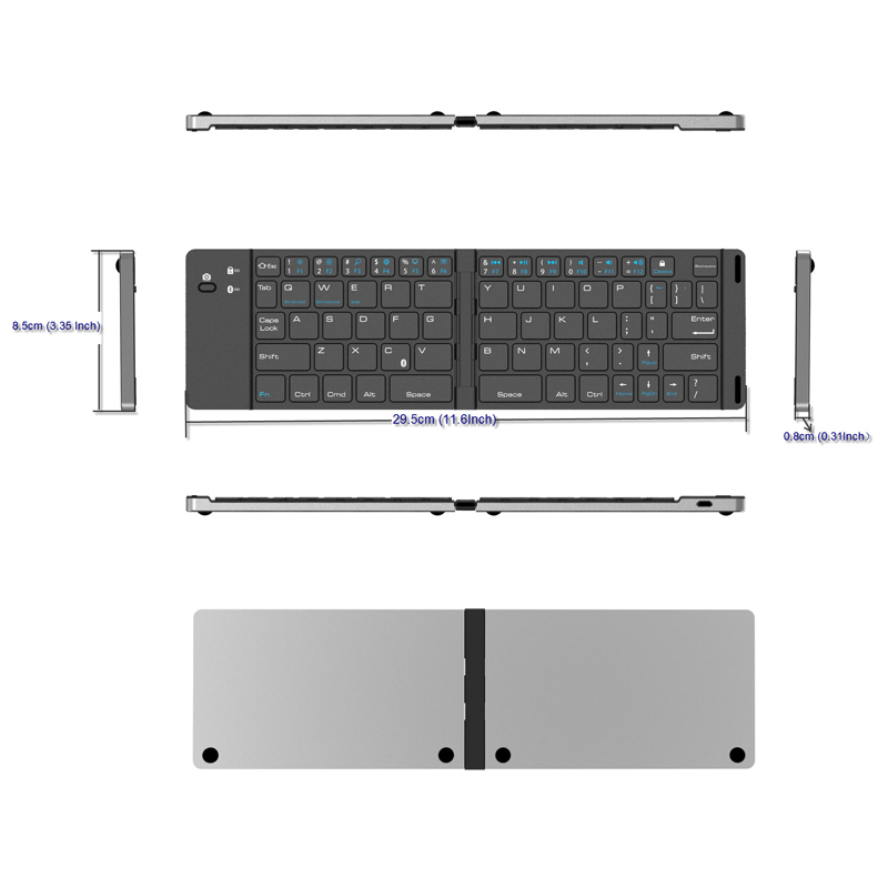 5 Bluetooth Keyboard Wireless