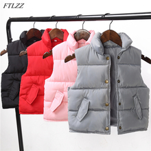 2017 Fashion Winter Boy Down Vests Waistcoats Baby Girl Outerwear&coats Vest All-match Kids Jackets Autumn Childrens Outerwear
