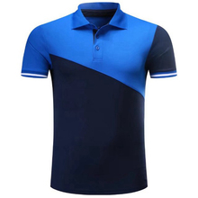 Men Soccer Football Polo Shirts Running GYM Tennis Badminton Golf Training Sports Polo Tops Sportswear Sports Suit