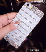 2017 Fashional Luxury Squares Style Bling Diamond Cartoon Pattern Cell Phone Case for China Mobile A1/A1S/N1/701/811/812/823