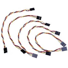 5 Pcs 4 Pin 20cm 2.54mm Jumper Wire Cables DuPont Line For Arduino Female To Female Hot Sale(China)