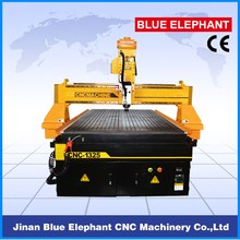 ELE1325 CNC Router for 3D Wood Work / Wood Products CNC Engraving Machine 4'X8' Working Area Vacuum Table