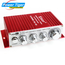 Kinter 12V 2CH Handover HI-FI Stereo Amplifier USB MINI Digital Audio subwoofer power Amplifier For Car Motorcycle Boat MA-180