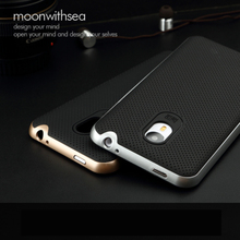 For Meizu M1 Note 5.5 Inch Case 100% Original PC Frame Silicon Cover Hybrid Protective Phone Shell   5 Kind Of Color Choose